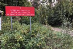 wjazd do rezerwatu
