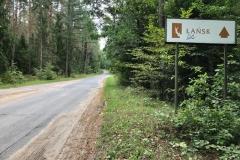 Droga na Łańsk
